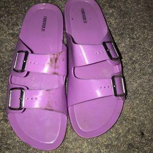 Birkenstock Sandals.
